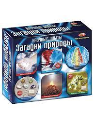 Научные опыты. Загадки природы (6 мини наборов) <b>Fun kits</b> ...