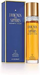 <b>Elizabeth Taylor Diamonds and</b> Sapphires Eau de Toilette - 100 ml ...