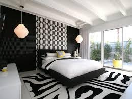 bedroom black white pattern pendant black white bedroom interior