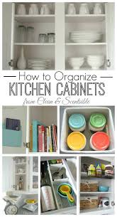 kitchen cabinet cleaning