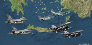 Αποτέλεσμα εικόνας για foto εμπλοκης πολεμικών αεροσκαφων ελλαδας τουρκιας