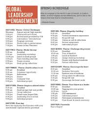 via global leadership engagement in silicon valley details