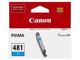 Купить <b>картридж</b> для принтера <b>Canon CLI</b>-<b>481</b> C (Cyan), голубой ...