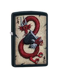 <b>Зажигалка Dragon</b> Ace с покрытием Black Matte <b>Zippo</b> 8632868 в ...