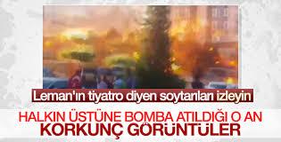Darbeciler Beştepe'de bekleyen halkı bombaladı