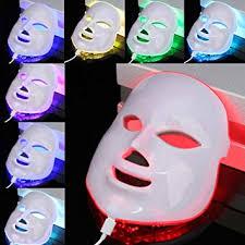 7 Color <b>Light Photon LED Electric</b> Facial <b>Mask</b> Skin Wrinkle ...