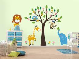 themed creative kids wall