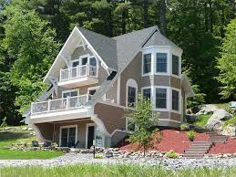 Mountain House Plans   The House Plan ShopChalet Home Plan Photo  H