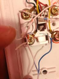 wiring cat6 cable to phone line for dsl internet solved this is the little box where to cat5 line runs to