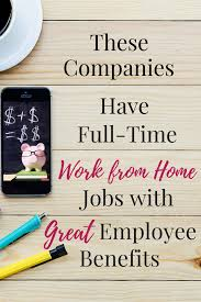 full time work from home jobs benefits buffer looking for a work from home career check out these companies that offer full time