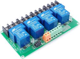 LIVISN DC <b>12V 30A</b> 1-Channel Relay Module High Low Level ...