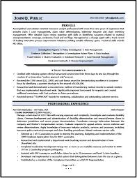 Example Resumes   Free Resume Template Download Free Pinterest