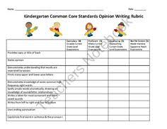 images about Rubrics on Pinterest    Fantastic Writing Rubrics for Kindergarten   beginning writers checklist   Teach Junkie