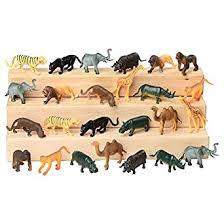 Block Play Animal Collection for Kids - Wild Animals ... - Amazon.com