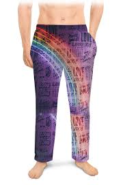 "Мужские пижамные штаны ""ЛЮБОВЬ <b>LOVE</b>"" #2627372 от robus ..."