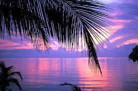 Belize Caribbean Sunset