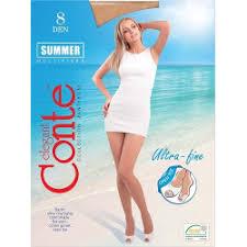 Отзывы о <b>Колготки</b> Conte Elegant Summer Open Toe <b>8 den</b>