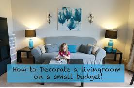 For Living Rooms On A Budget How To Decorate A Living Room On A Really Small Budget Youtube