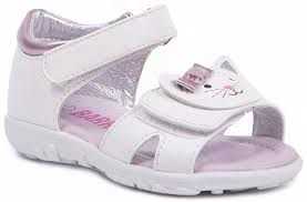 <b>Туфли</b> летние для <b>девочки Barkito</b>, белые - купить в Москве: цены ...