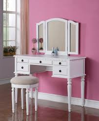 white and mirrored furniture furniture modern white dressing table with mirror and drawers using pink wall charming makeup table mirror
