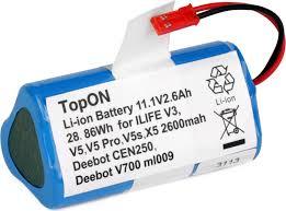 <b>Аккумулятор</b> для робота-пылесоса <b>Chuwi iLife</b> V3, V5, V5 PRO ...