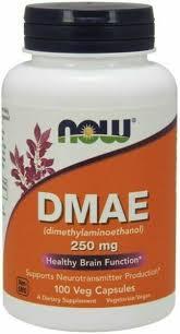 Now Foods <b>DMAE 250 MG 100</b> Vcaps Dimethylaminoethanol for ...