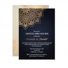 <b>Luxury wedding invitation</b> card template Vector | Free Download