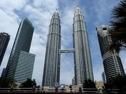 work area twin prime:  px the petronas twin towers in kuala lumpur malaysiajpg