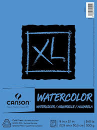 Canson 100510941 XL Series Watercolor Pad, 1 ... - Amazon.com