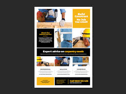 multipurpose business poster template for photoshop illustrator handyman poster template