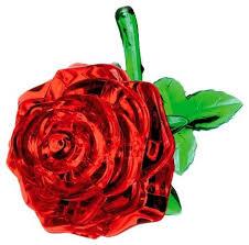 Купить <b>3D</b>-<b>пазл Shantou Gepai 3D</b> Роза (9001) в ассортименте ...