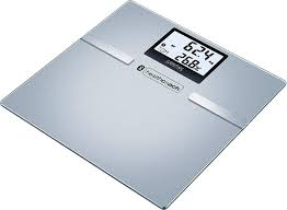 <b>Весы напольные электронные Sanitas</b> SBF 70 BT, серый ...