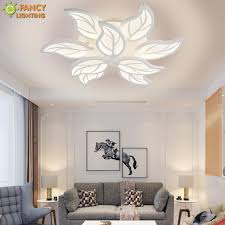 <b>Nordic led</b> ceiling light Warm/Nature/Cool White 3 <b>Color</b> 220V Leaf ...