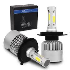 <b>CREE COB H4 HB2</b> 9003 1500W 225000LM LED Headlight Kit Hi ...
