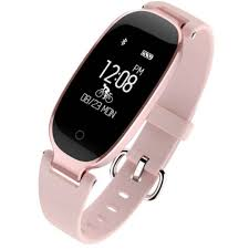 $32 incl postage <b>Smart Watch</b> Women Ladies IOS Android Pink ...