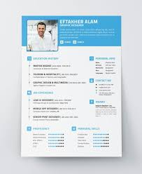 best  modern resume cv psd ai indesign templates  resume template