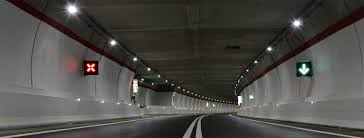 project in valnerina italy with tled the luminaire for efficient led tunnel lighting aec eco lighting