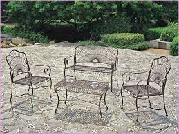 vintage wrought iron patio furniture sets black wrought iron patio