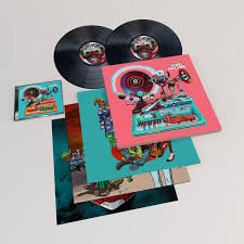 SONG MACHINE, SEASON ONE LIMITED DELUXE <b>VINYL</b> - <b>Gorillaz</b>