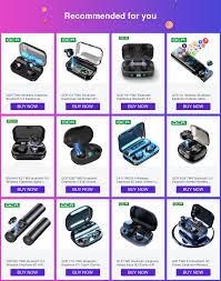 <b>G02</b> TWS 5.0 Bluetooth 9D Stereo Earphone <b>Wireless</b> Earphones ...
