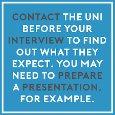 portfolio tips tip 8 if you re wondering how the day is going to pan out contact the university you are attending for an interview and get in the know on what to expect