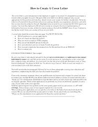 how to create a cover letter resume badak how to create cover letter