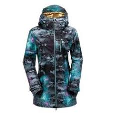 This feminine ski jacket of <b>Kilpi</b> ensures you to arrive completely in ...