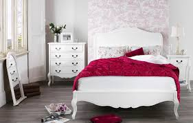 f antique white shabby chic bedroom furniture ideas for small spaces teenage girls with french base legs and curved headboard also combined flourish chic small white home