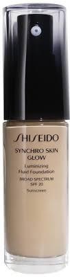 <b>Shiseido Synchro Skin Glow</b> Luminizing Foundation Neutral 3 30ml ...