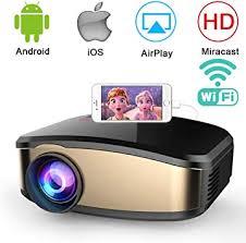 Wireless WiFi Projector,Weton Portable Mini LED ... - Amazon.com