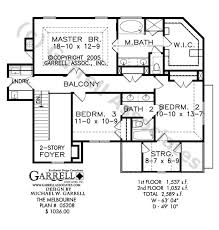 Melbourne House Plan   House Plans by Garrell Associates  Inc     melbourne house plan   nd floor plan