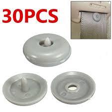 <b>30pcs</b> Car Seat Belt Buckle Retainer Seatbelt Anti Slip <b>Plastic</b> Stop ...