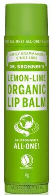 """Dr. Bronner's <b>Lemon</b> & Lime Lip Balm - <b>Бальзам для губ</b> """"Лимон и ..."""