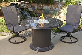 gas fire pit table grill